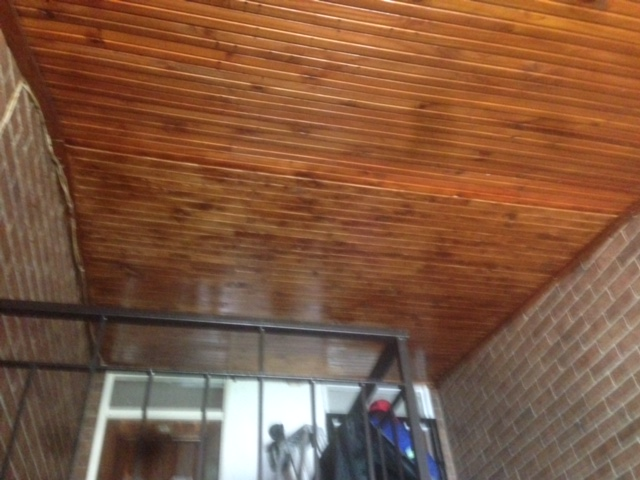 Knotty Pine Ceiling Repair Spencer Roofing Affordable