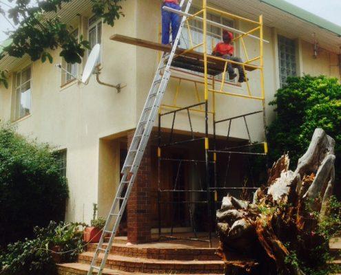 Repair Under Eve Ceilings
