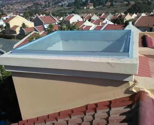 skylight fitted